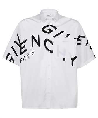Givenchy BM60L3109F REFRACTED PRINTED Shirt