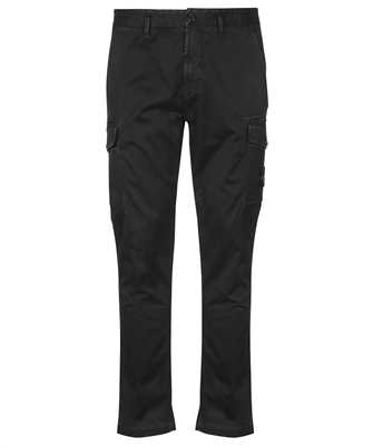 Stone Island 318L1 STRETCH BROKEN TWILL COTTON 'OLD' EFFECT SLIM FIT Trousers