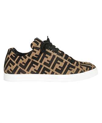 Fendi 7E1258 A7MY TECH FABRIC LOW TOP Sneakers