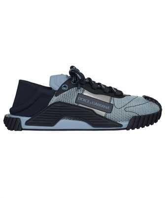 Dolce & Gabbana CS1769 AO225 MIXED MATERIAL NS1 SLIP-ON Sneakers