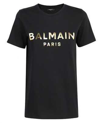 Balmain WF1EF000B097 METALLIC LOGO T-shirt