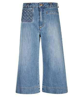 See By Chloè CHS21SDP02150 SIGNATURE JEAN Shorts