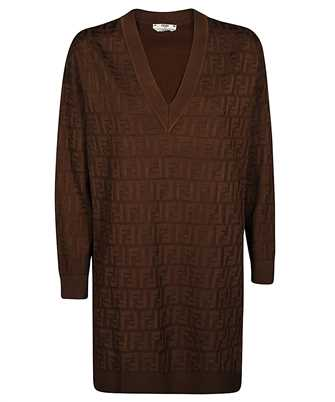 Fendi FZD824 AAVG FF VISCOSE Dress