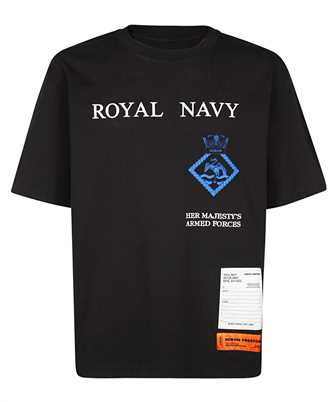 Heron Preston HMAA019F20JER014 ROYAL NAVY T-shirt