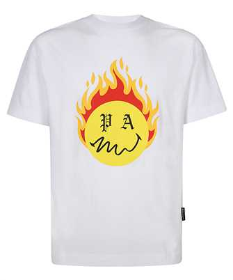 Palm Angels PMAA001R21JER004 BURNING HEAD T-shirt