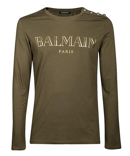 Balmain W8H8651I258 T-shirt