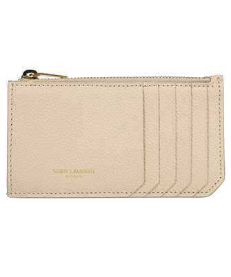 Saint Laurent 631992 B680J FRAGMENTS Porta carte di credito