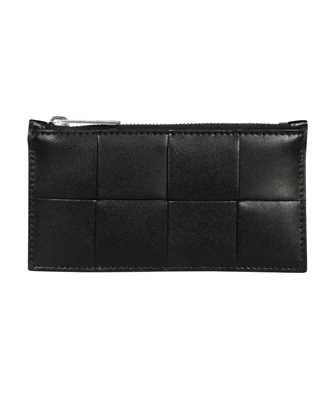 Bottega Veneta 667049 VBWD3 ZIPPED Porta carte di credito