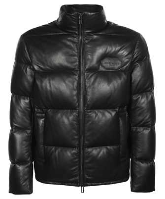 Emporio Armani B1R10P B1P10 LEATHER BLOUSON Jacket