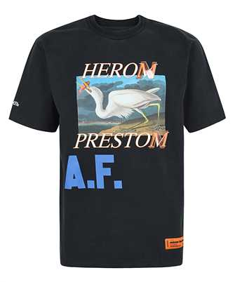 Heron Preston HMAA020R21JER002 HERON A.F. S/S T-shirt