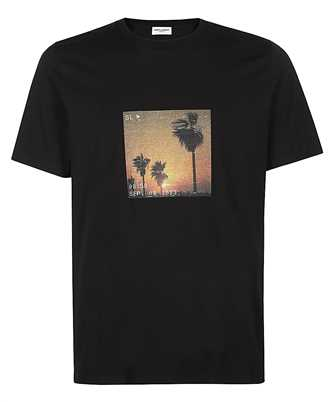 Saint Laurent 646354 Y36AC VHS SUNSET T-shirt