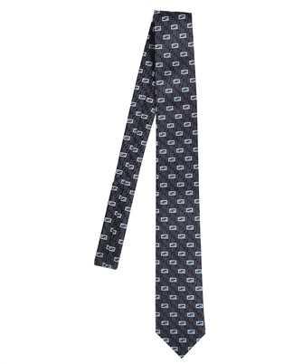 Fendi FXC023 AFY1 JACQUARD FF Cravatta