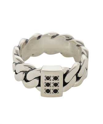 Tom Wood R46LABSP01S CHAIN THICK SPINEL Ring
