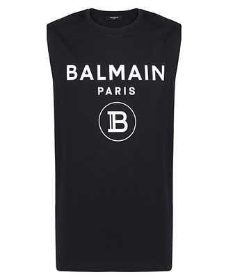 Balmain VH1EC001B029 SLEEVELESS T-shirt