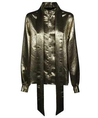 Saint Laurent 606628 Y3A83 LAVALLIERE-NECK Shirt