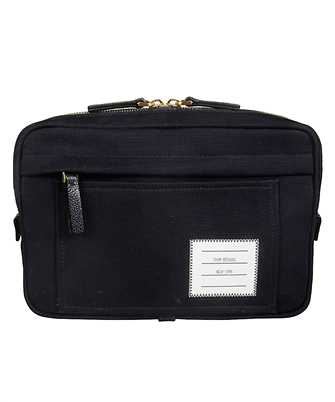 Thom Browne MAG177A-05390 INTERLOCK BACKING CANVAS Waist bag