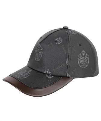 BERLUTI T20CA18-001 SIGNATURE CANVAS LEATHER DETAIL Cap
