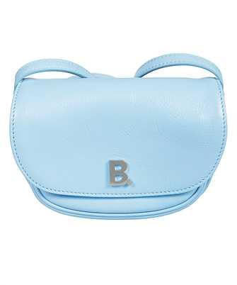 Balenciaga 580031 1EU0N SOFT ROUND Bag