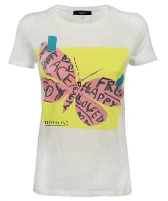 MAX MARA WEEKEND 59710111600 FLUTTERFLIES T-shirt