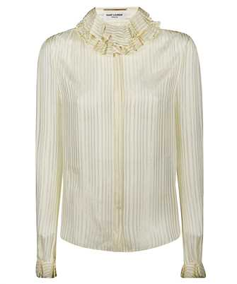 Saint Laurent 633387 Y3B43 RUFFLED Shirt