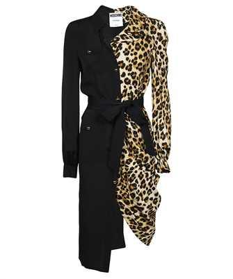Moschino A 0402 5534 PATCHWORK SHIRT Dress