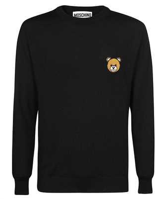 Moschino A 0902 7000 TEDDY BEAR WOOL Knit