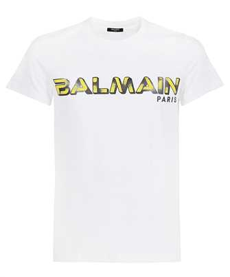 Balmain WH1EF000B138 PRINTED LOGO T-Shirt