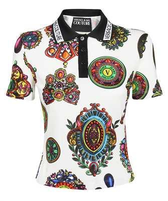 Versace Jeans Couture 71HAG620 JS007 PIQUET PRINT GRANDE BIJOUX Polo