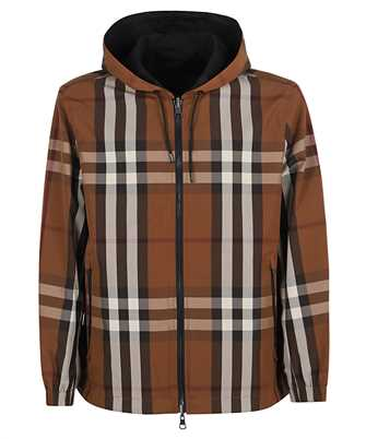 Burberry 8036916 REVERSIBLE CHECK TECHNICAL COTTON HOODED Jacket