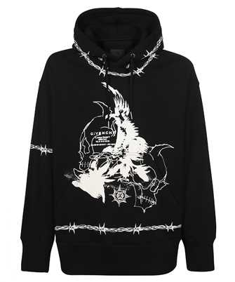 Givenchy BMJ0C63Y69 GOTHIC OVERSIZED Hoodie