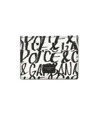 Dolce & Gabbana BP0330 AZ657 GRAFFITI PRINT Card holder