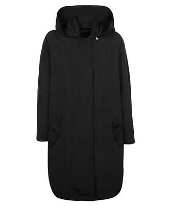 Emporio Armani 3K2L65 2NMVZ TECHNICAL FABRIC HOODED TRENCH Coat