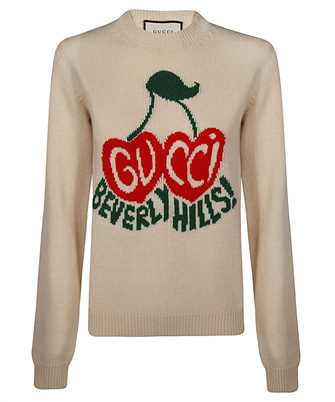 Gucci 629127 XKBHI CHERRY INTARSIA Maglia