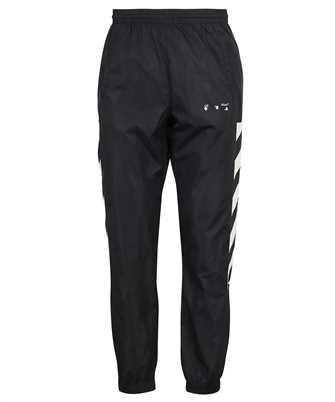 Off-White OMCJ001F21FAB001 DIAG NYLON TRACK Trousers