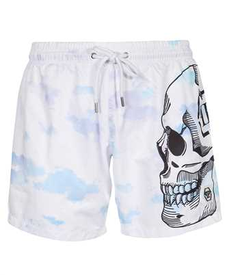 Philipp Plein PAAC MMT0265 BEACHWEAR CLOUDS Shorts
