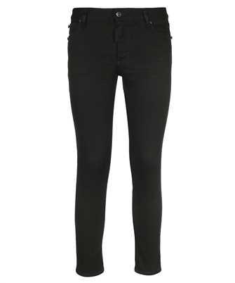 Dsquared2 S75LB0484 S30730 MEDIUM WAIST CROPPED TWIGGY Jeans