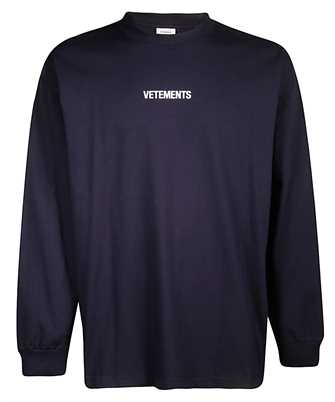 Vetements UAH20TR612 LOGO Sweatshirt