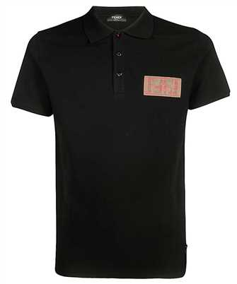 Fendi FAF510 A8K4 COTTON PIQUET Polo