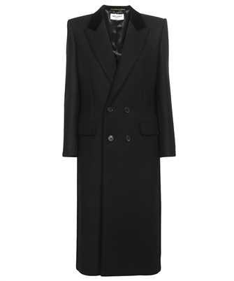 Saint Laurent 661315 Y5B58 DOUBLE-BREASTED LONG Coat