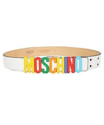 Moschino 8007 8001 LETTERING Belt