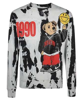 Chinatown Market 1960015 SMILEY CHAMPIONS VARSITY BEAR Sweatshirt