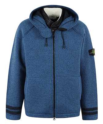 Stone Island 565A6 FELTED PURE WOOL Jacket