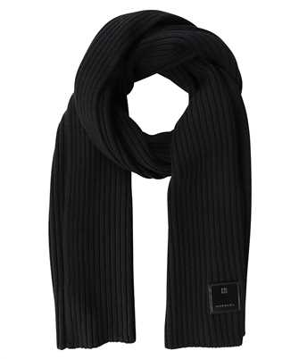 Givenchy BP003K P0EY RIBBED WITH PATCH Scarf