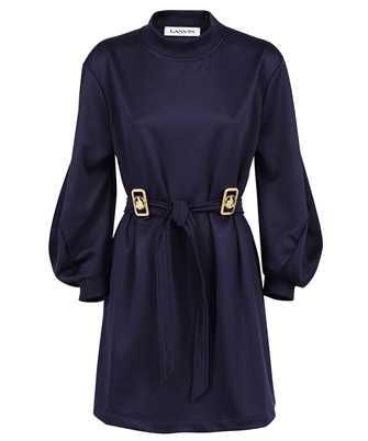 Lanvin RW DR0069 J039 A21 JERSEY BELTED SWEATSHIRT Dress