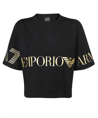 EA7 3KTT18 TJ29Z STRETCH JERSEY LOGO T-Shirt