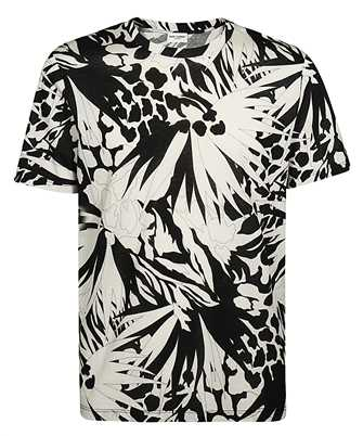 Saint Laurent 605234 YBQL2 JUNGLE FLOWER T-shirt