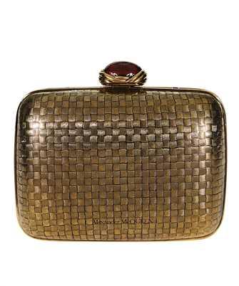 Alexander McQueen 619884 J160K MINI METAL Bag