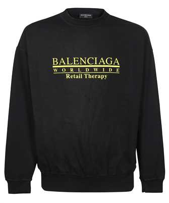 Balenciaga 676629 TLVA9 RETAIL THERAPY REGULAR CREWNECK Maglia
