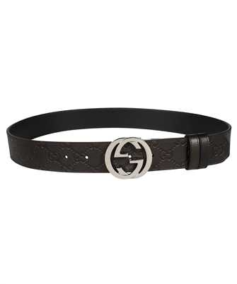 Gucci 473030 CWCWN REVERSIBLE SIGNATURE Belt