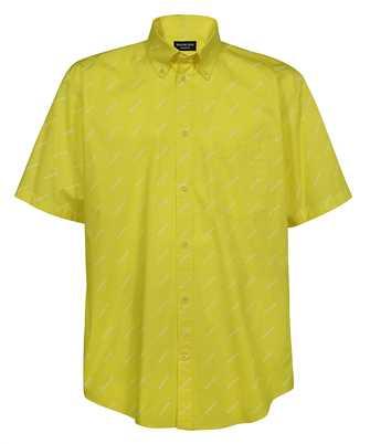 Balenciaga 534332 TBL96 S/S NORMAL-FIT Shirt
